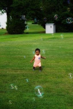 National Day of Play Ideas: Bubbles