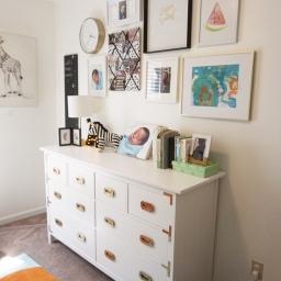 DIY Ikea Campaign Dresser Hack